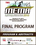 MEMA 2015 Call For Papers