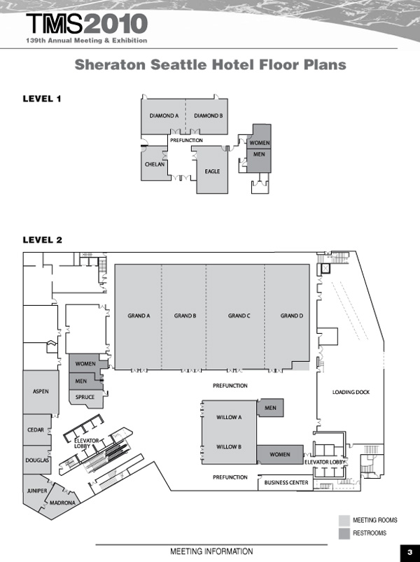 mapsheraton1and2jpg – Washington State Convention Center Floor Plan