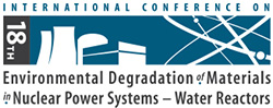 18th Intl Conf on Environmental Degradation of Materials