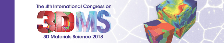 4th International Congress on 3D Materials Science (3DMS