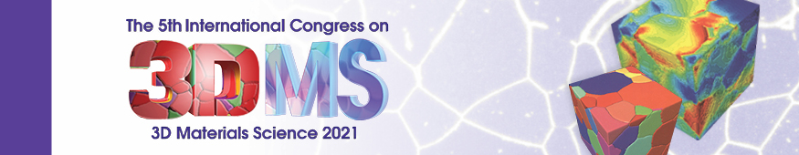 5th International Congress on 3D Materials Science (3DMS 2021)