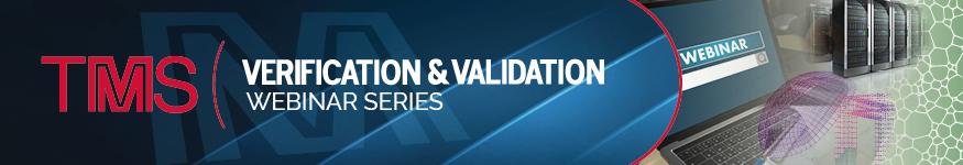 V&V Webinar Series