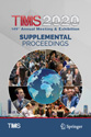 TMS 2020 149th Annual Meeting & Exhibition Supplemental Proceedings
