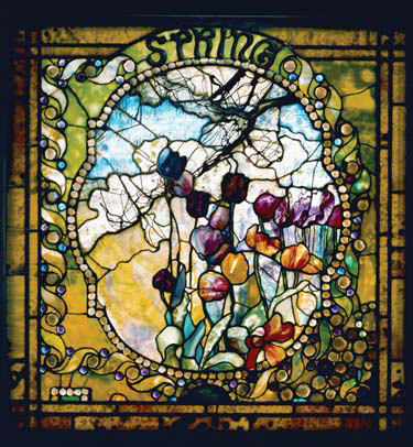 Louis Comfort Tiffany Artistry Chemistry Secrecy